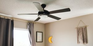 Clean Apartment Ceiling Fan Dust